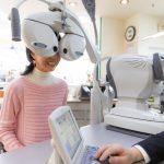 眼科で視力検査